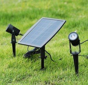 Ландшафтный светодиодный светильник на солнечной батарее HF-SD02