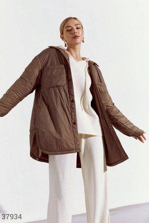 Легкая куртка рубашечного кроя