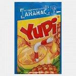 Растворимый напиток YUPI Ананас 15 г
