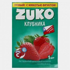 Растворимый напиток ZUKO Клубника 25 г
