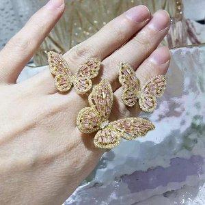 Комплект в виде бабочек