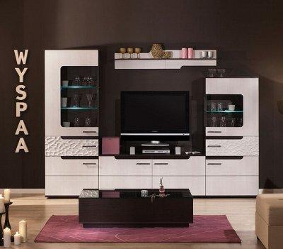 Классический и современный стиль. Мебель для каждого! — Гостиная WYSPAA (Венге-Бодега Светлый) — Мебель