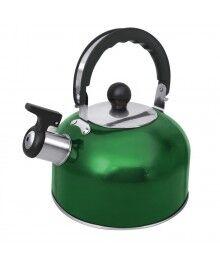Чайник со свистком HOME ELEMENT HE-WK1602 зеленый изумруд (2л.-полезный 1,5л., со свистком)