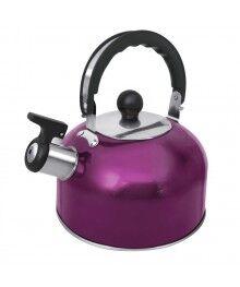 Чайник со свистком HOME ELEMENT HE-WK1602 фиолетовый чароит (2л.-полезный 1,5л., со свистком)