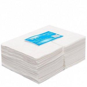 Салфетки одноразовые спанлейс 20х30 см White Line  100 шт/уп