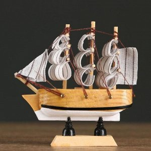 Корабль сувенирный малый «Аризона», микс, 3?10?10 см