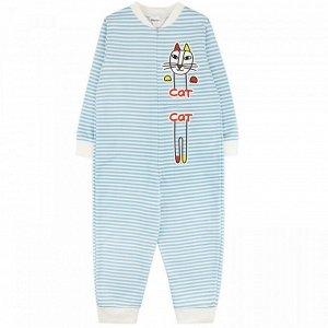 Комбинезон футер 0884301101 для новорожденного