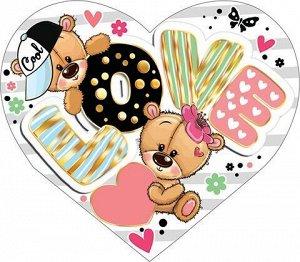 "Открытка-валентинка ""Love"""
