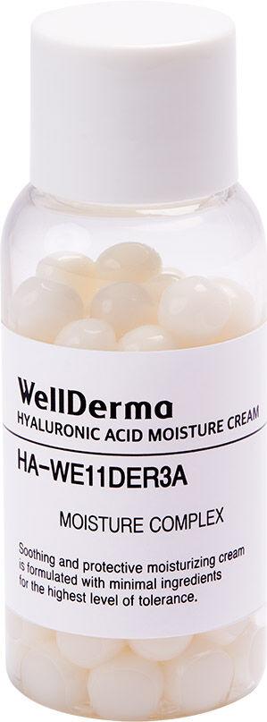 Крем для лица КАПСУЛЫ Hyaluronic Acid Moisture Cream, 20 гр WELLDERMA