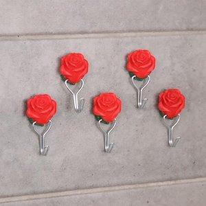 Набор крючков на липучке «Цветочек», 3 шт, дизайн МИКС