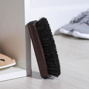Щётка для обуви, 14?3,9 см
