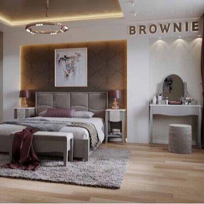 Классический и современный стиль. Мебель для каждого! — Спальня Brownie (Мокко - Белый) — Мебель