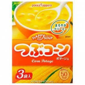 Суп-пюре Рокка кукурузный (сухой) быстрого приготовления 3 порции, 37,8 гр.
