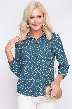 Рубашка Рубашка из текстильного полотна. 30% вискоза 65% п/э,5% эластан