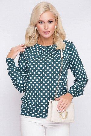 Блузка Блузка из трикотажного полотна. 30% вискоза 65% п/э,5% эластан