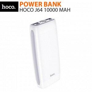 Внешний аккумулятор Power Bank Hoco J64 10000 mAh