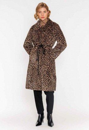пальто пальто из искусственного меха, тренд сезона