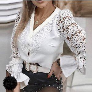 Блузка Ткань. Лайт  Размер💞в💞размер