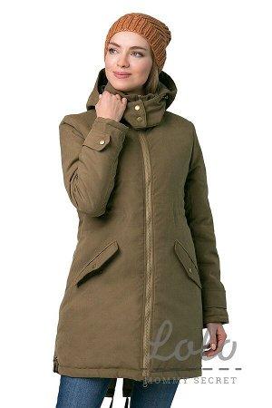 Зимняя куртка-парка для беременных и слингоношения Wn013.2