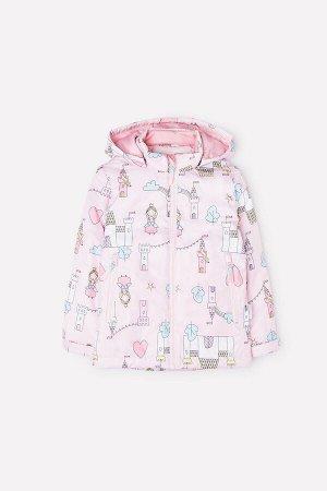 Куртка(Весна-Лето)+girls (светло-розовый, замок принцессы)