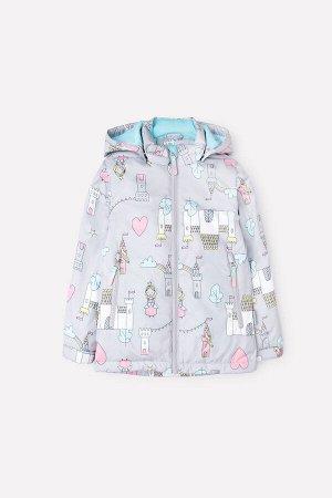 Куртка(Весна-Лето)+girls (светло-серый, замок принцессы)