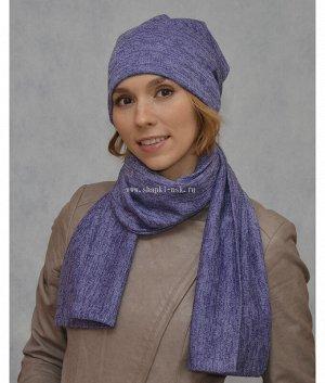 Классик-1 люрекс(колпак+шарф) Комплект