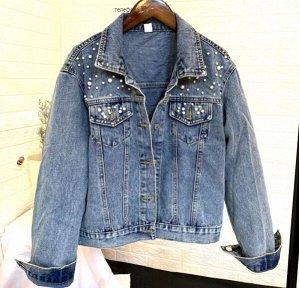 Джинсовая куртка, синий