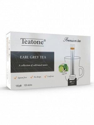 Черный чай  Аромат бергамота TEATONE 100стик