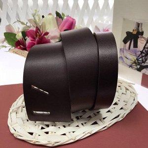 Элегантный пояс-кушак Farme_Gualli из полотной эко-кожи кофейного цвета.
