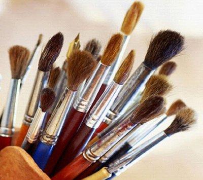 Art Идея. Вся палитра красок и товаров для творчества — Школьные кисти — Кисти