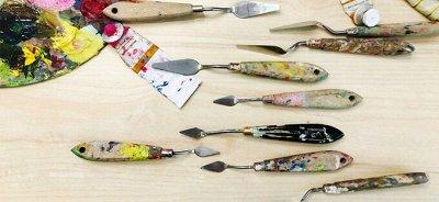 Art Идея. Вся палитра красок и товаров для творчества — Инструменты для живописи:от мастихина до ластиков — Кисти