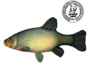 """Антистрессовая игрушка Рыба """"Линь"""" мал."""