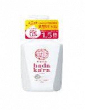 """Бархатное увлажняющее мыло-ПЕНКА для тела с ароматом букета цветов """"Hadakara"""" (дозатор) 825 мл / 9"""