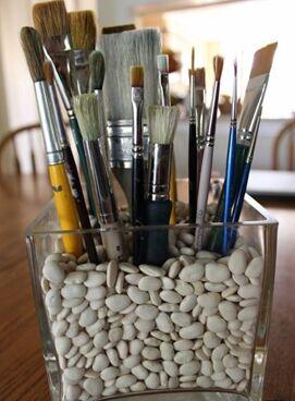 Art Идея. Вся палитра красок и товаров для творчества — Кисти для начинающих и профессиональных художников — Кисти