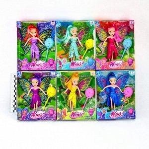 Кукла Winx club 16см 4вида (кукла+аксессуары)(№1465)