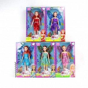 Кукла Winx club 30см 5видов (гнутся суставы)(№1466)