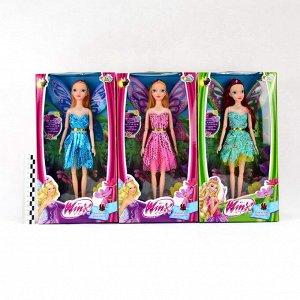 Кукла набор Winx club 30см 3вида (2куклы)(гнутся суставы)(№1440)