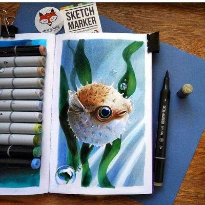 Art Идея. Вся палитра красок и товаров для творчества — Маркеры для скетчинга — Рисование