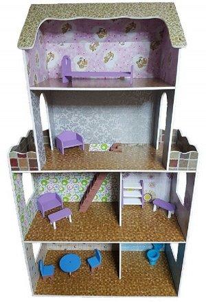 Кукольный дом 4 этажа