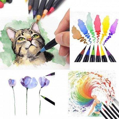 Art Идея. Вся палитра красок и товаров для творчества — Акварельные маркеры для скетчинга — Рисование