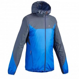 Ветрозащитная мужская куртка для скоростных горных походов FH500 helium wind QUECHUA