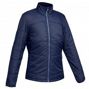 Куртка для треккинга при -10°C 3 в 1 водонепроницаемая TRAVEL 500 мужская синяя FORCLAZ