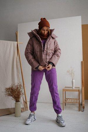 Куртка женская Демисезон Какао скидка