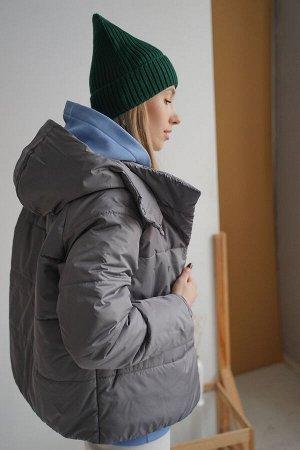 Куртка женская Демисезон Grey скидка