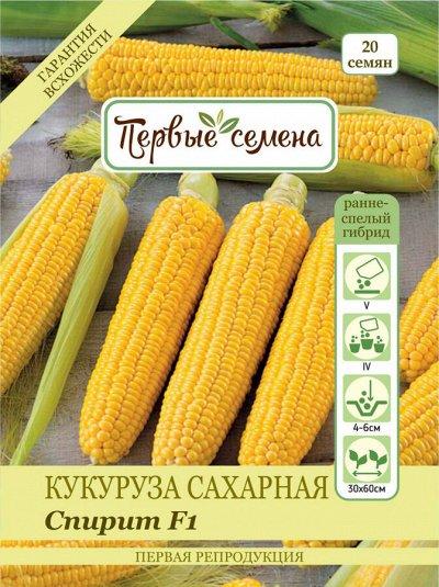 Первые семена. С нами сажает вся страна! — Кукуруза — Семена овощей