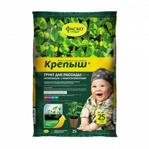 Грунт Крепыш 25л (1уп/1шт)(ФАСКО)