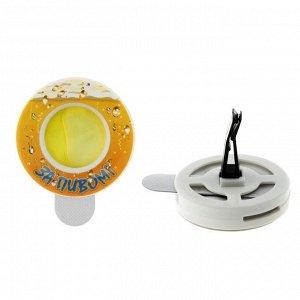 Ароматизатор для авто на дефлектор За пивом 138681 7*5,5см