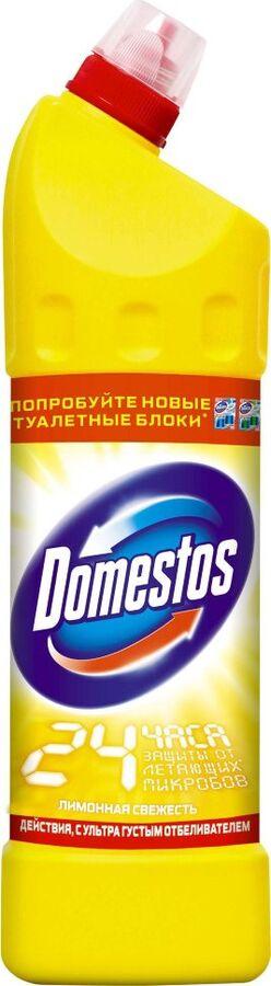 Средство чистящее Доместос Лимонная свежесть 1л (1уп/12шт)