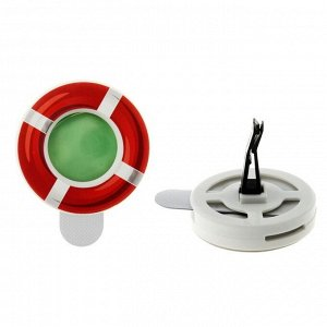 Ароматизатор для авто на дефлектор Спасательный круг 138679 7*5,5см