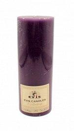 Свеча Фиолетовая 7,5*20см Арт.1380401900